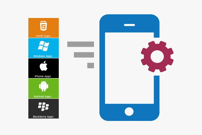 Mobile App Development Icon