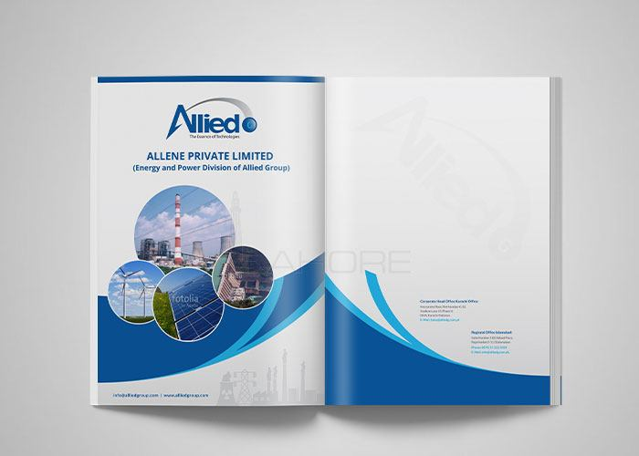Company Brochure Design for Allied Group  Design