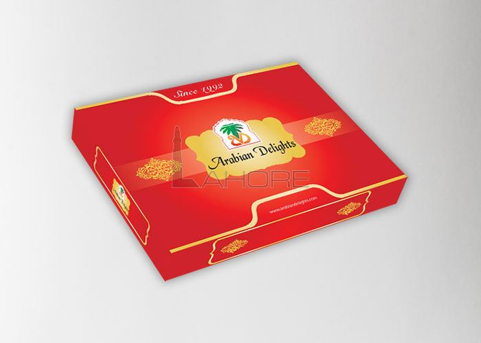 Arabian Delight Sweets Box Design Design