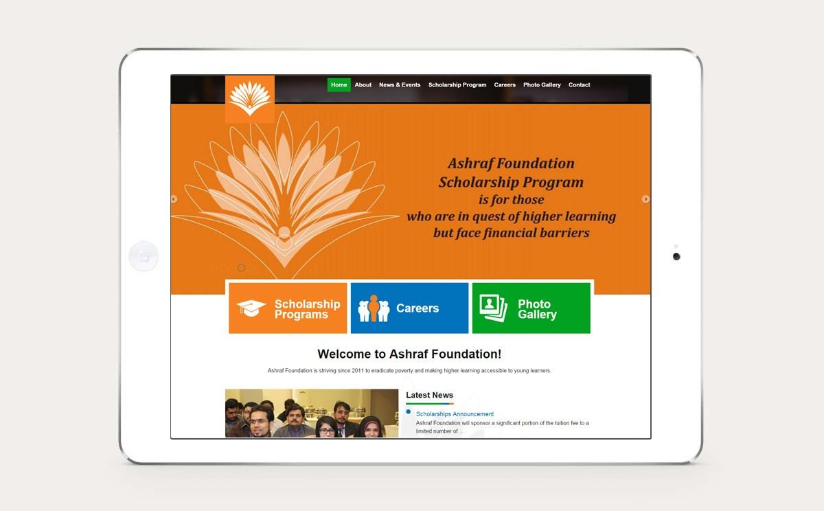 Ashraf Foundation Design