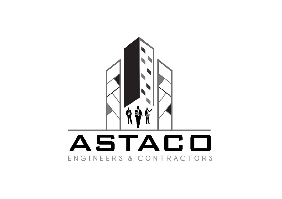 Astaco Engineers Logo Design Design