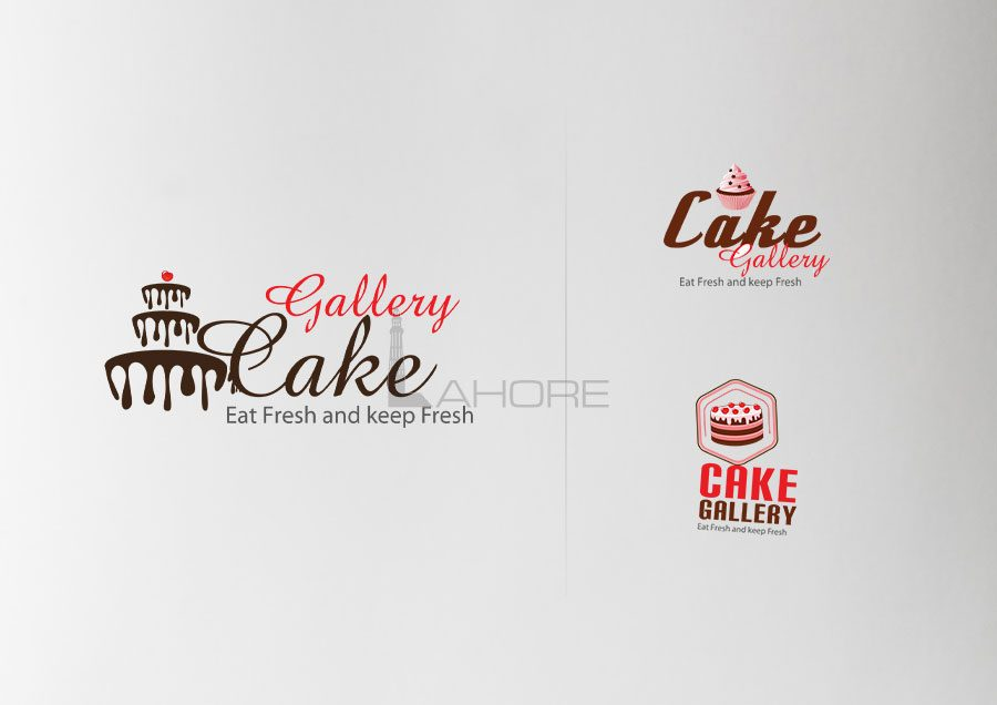 Cake Gallery Logo Design Concepts