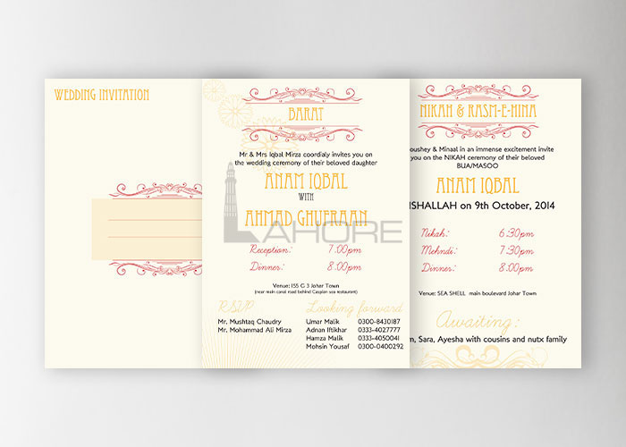 Wedding Card Design  Design