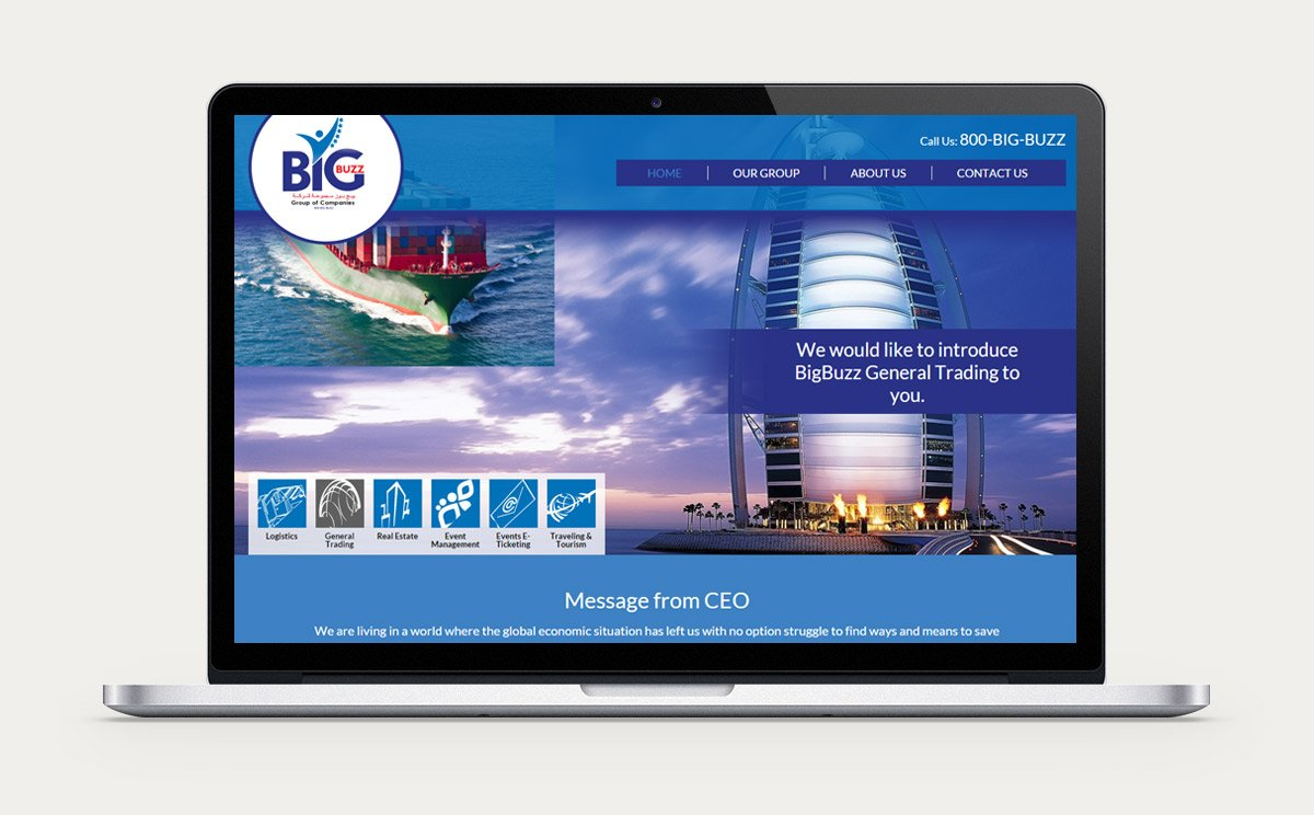 BigBuzz Group of Companies Design