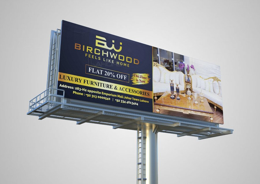 Custom Billboard Design and Advertising