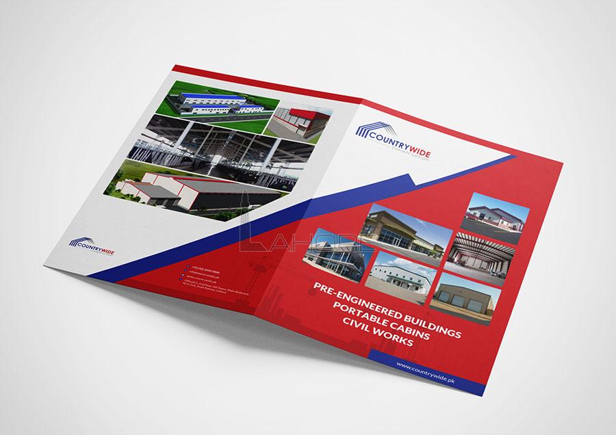 Countrywide Construction Brochure Design
