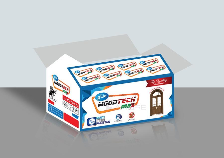 Glue Carton Packaging Design