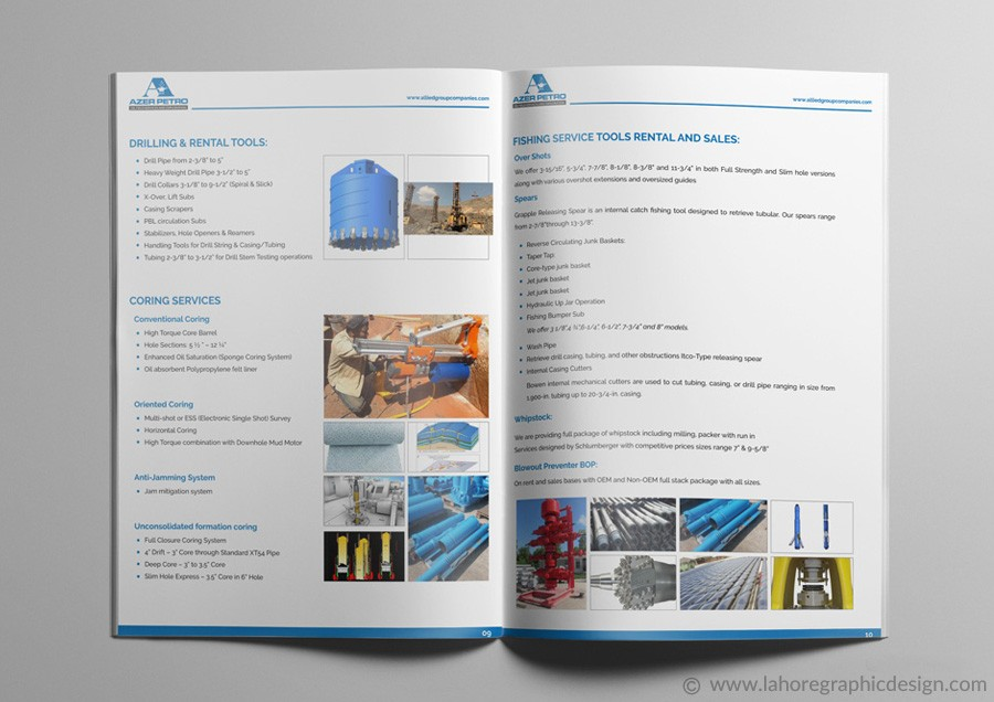 Catalogue Design Inner Page-3
