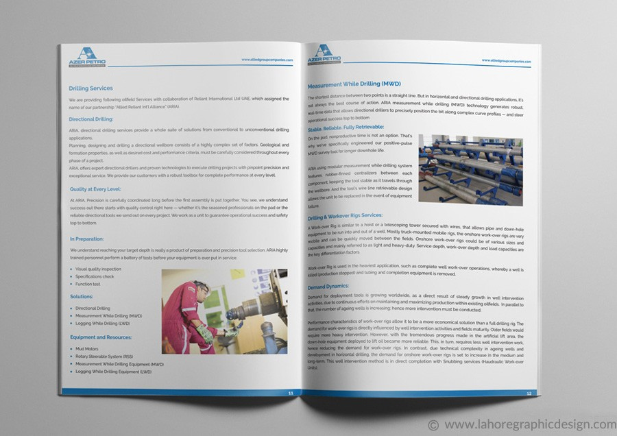 Catalogue Design Inner Page-4
