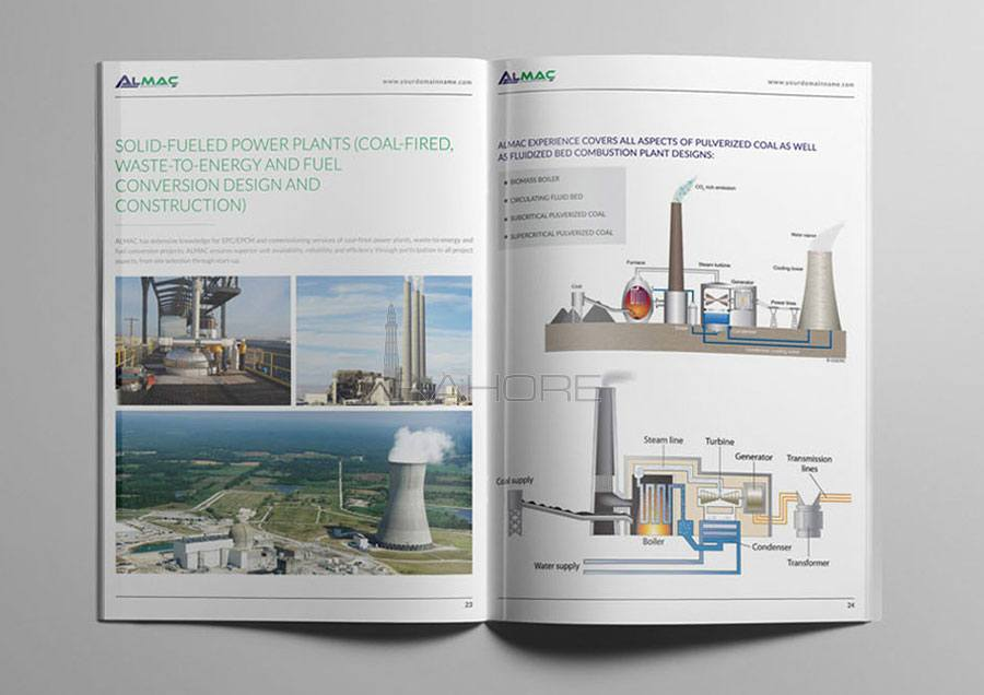 Catalog Design for Construction Company