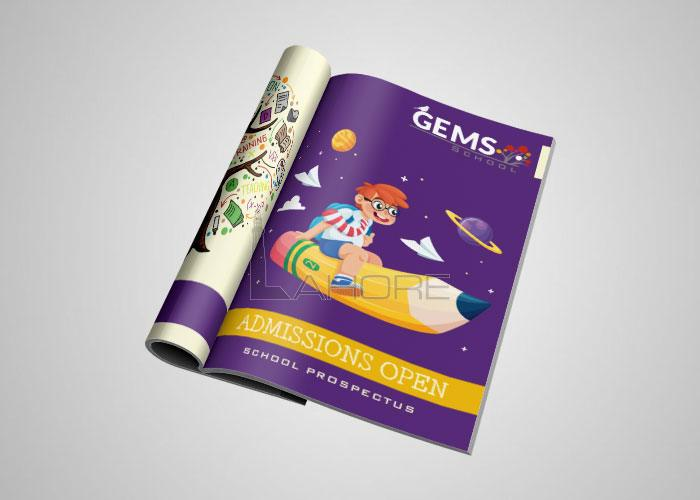 Gems School Branding Design
