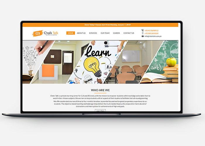 Online Learning Portal Design & Development Design