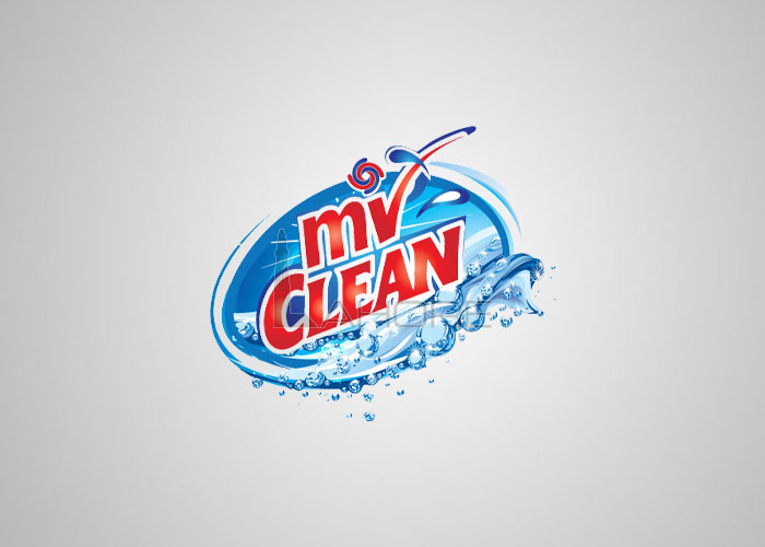 Cleaning Detergents Logo Design for Mi Clean  Design