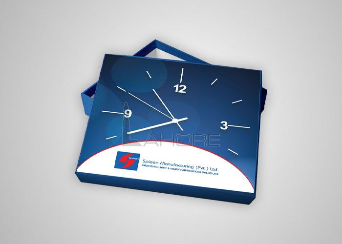 Clock Box & Calendar Design for Spleen Design