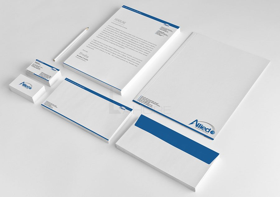 Company Stationery Design
