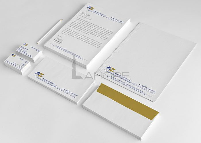 AZ Construction Stationery Design Design
