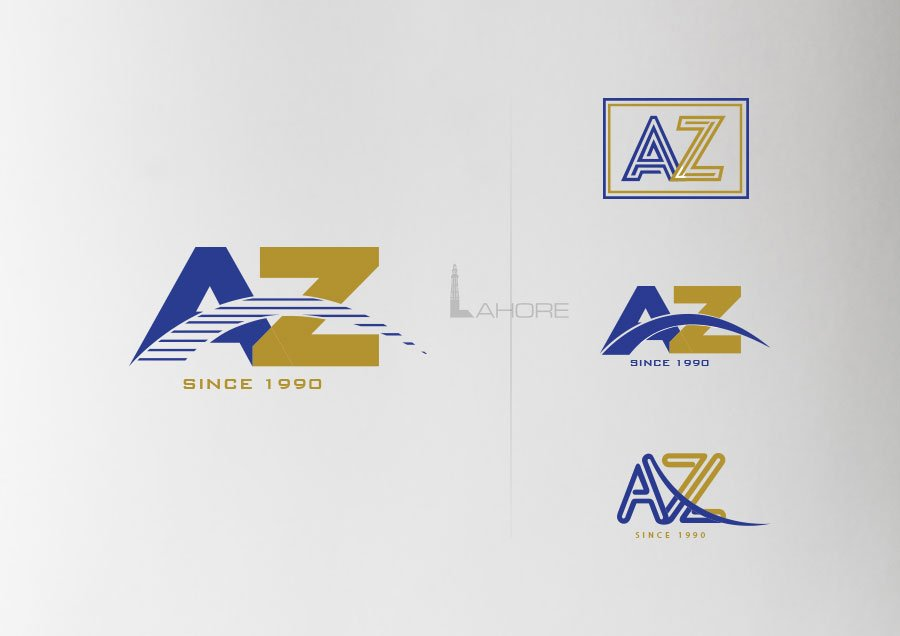 AZ Construction Logo  Design Concepts