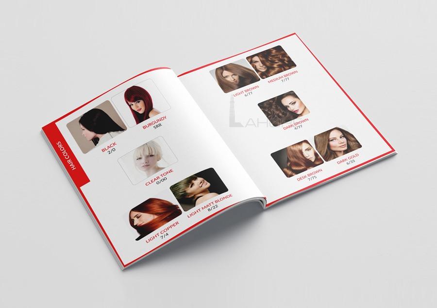 Professional Catalog Design Layout