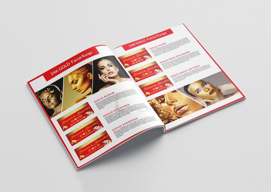 Hair Color Brochure Design