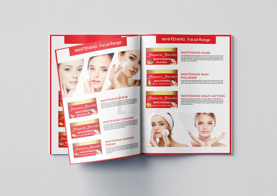 Cosmetics Catalog Design Inspiration