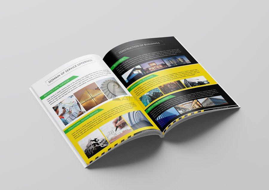 Brochure Design Inner Page 1