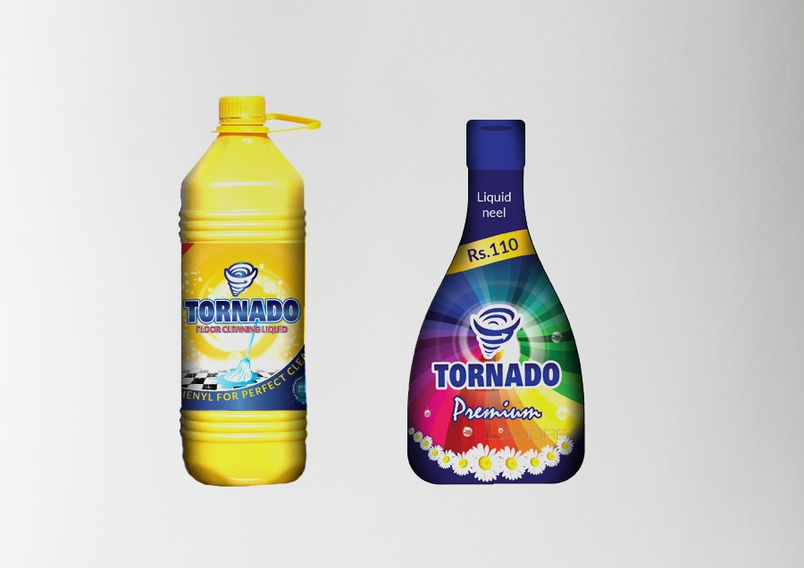 Dish Wash Liquid | Toilet Cleaner | Label | Packaging Design Company
