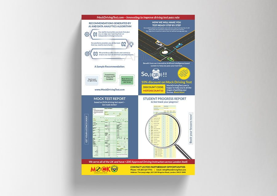 Driving License Report Design