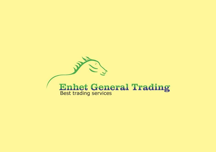 Enhet General Trading Logo Design Design