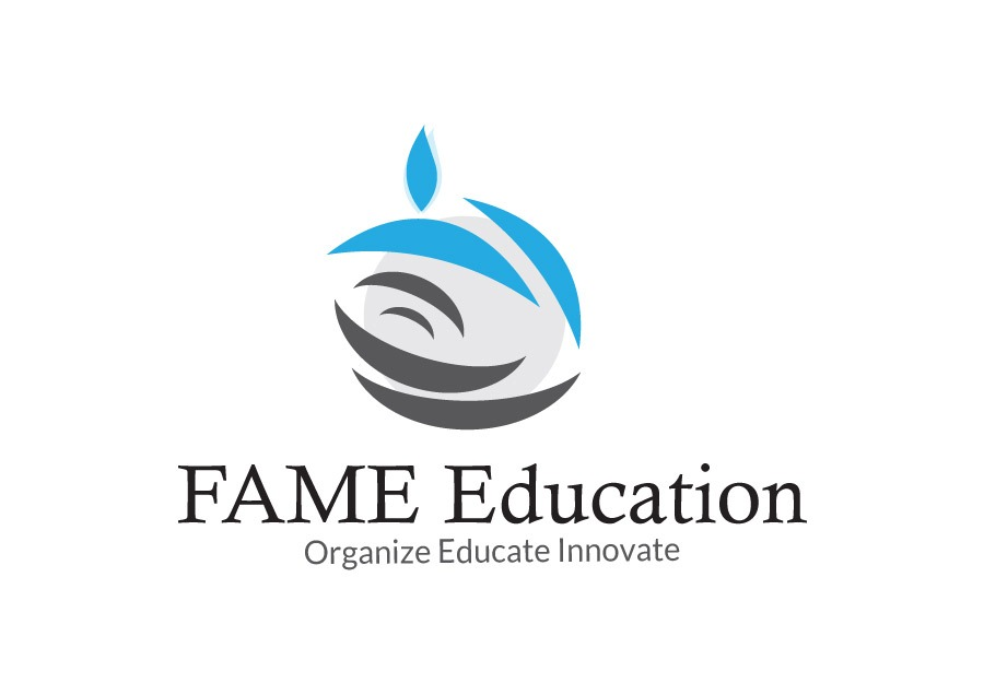 Fame Education Logo Design Design