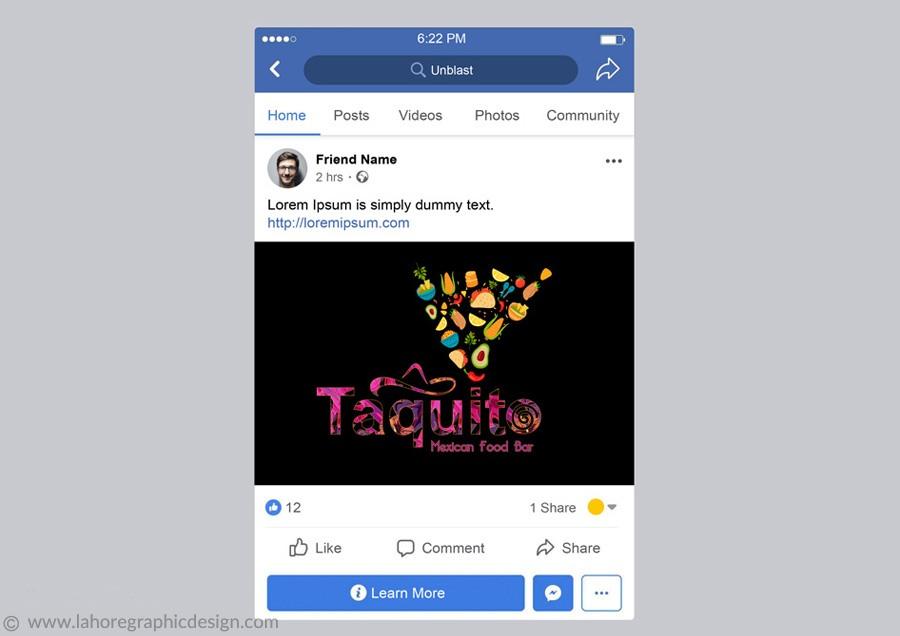 Facebook post 7