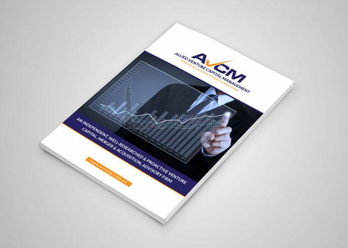 Company Profile Design for AVCM Design