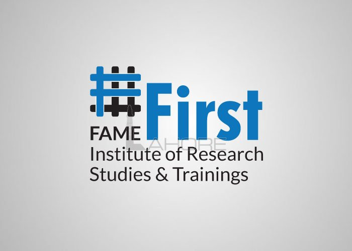 First Fame Institute Logo Design Design