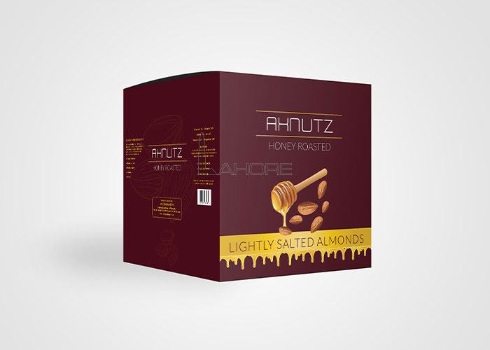 Packaging Design for AXNutz Design