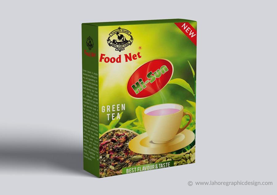 Tea Packaging Design Option 1
