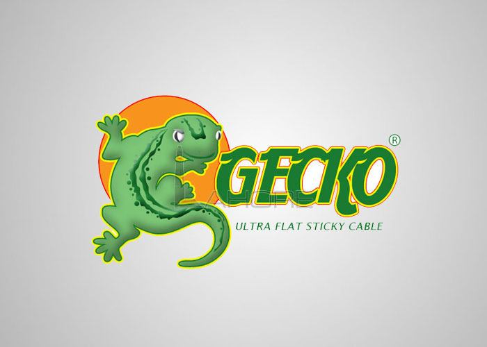 Gecko Ultra Flat Sticky Cable  Design