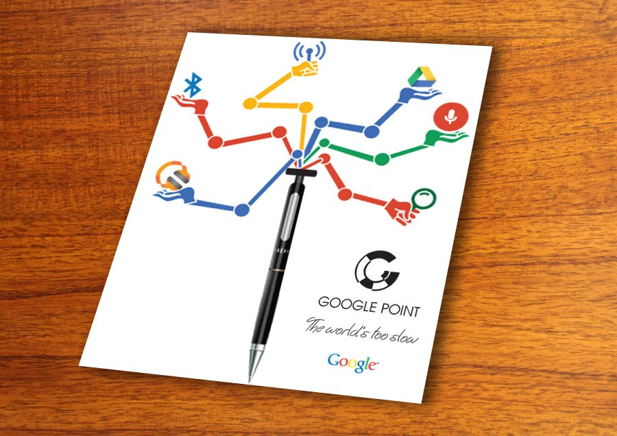 Google Point Creative Idea Design
