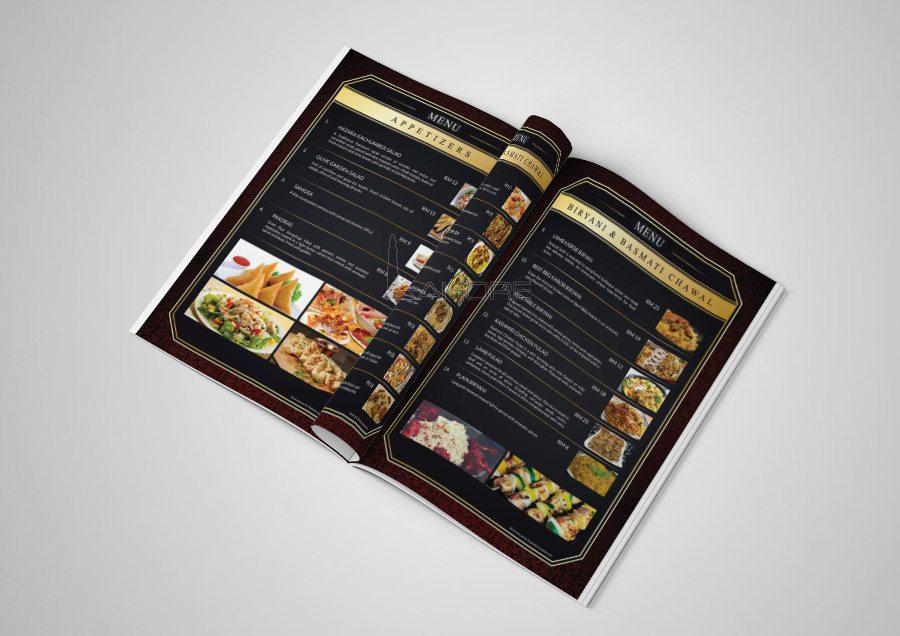 Lunch Menu Design Inner Page-2