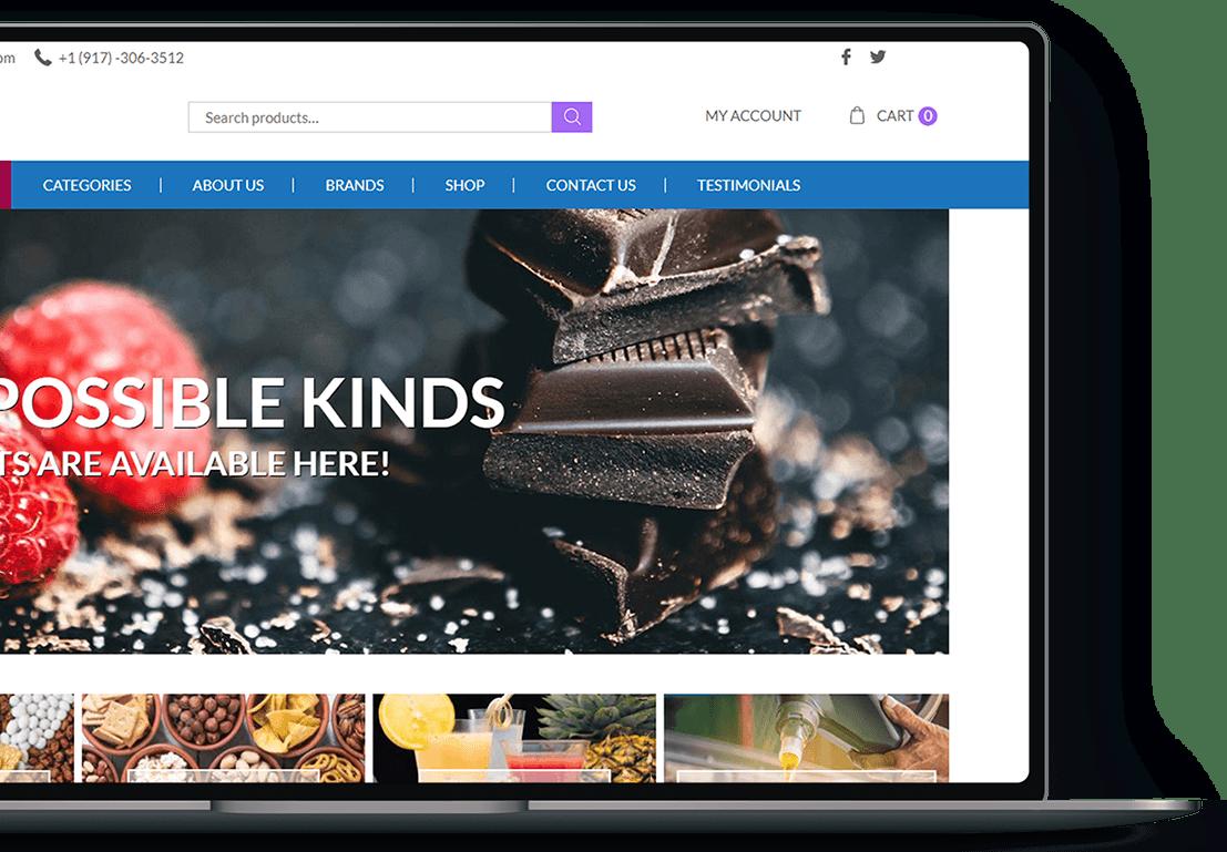 Ecommerce website design and development in Wordpress