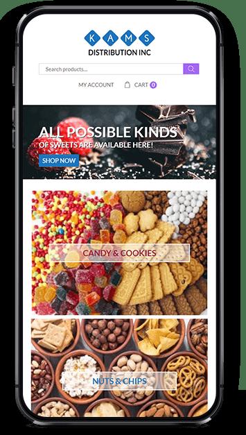 Responsive website design optimized for desktop, tablet, and mobile