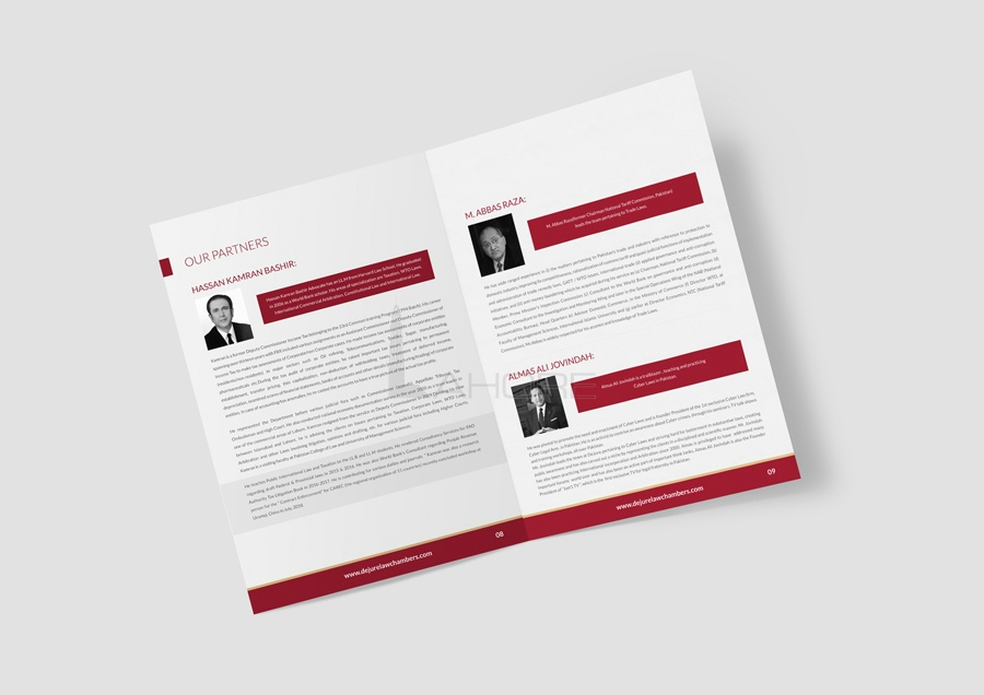 Law Firm Brochure & Brand Identity Design