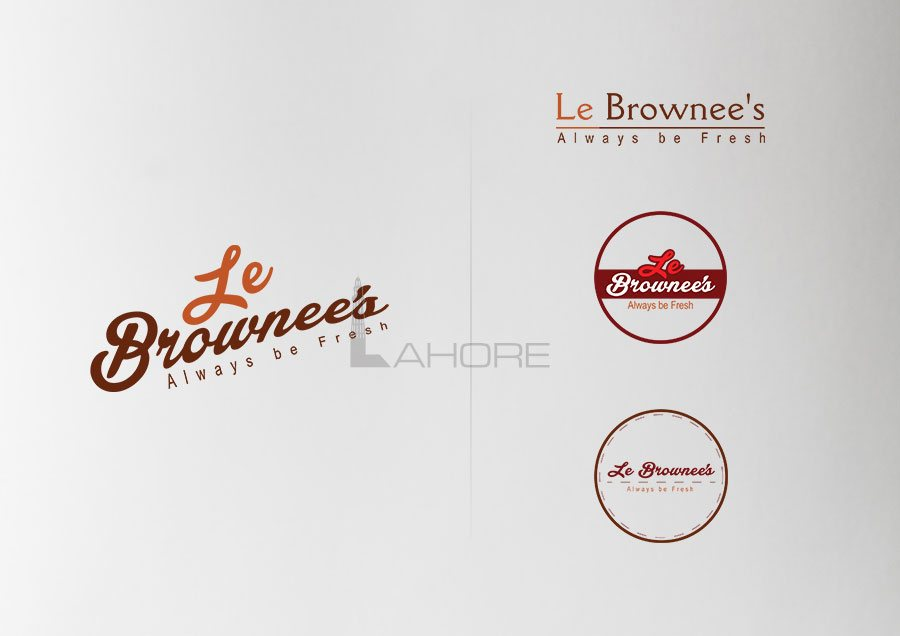 Le-Brownees Logo Design concepts