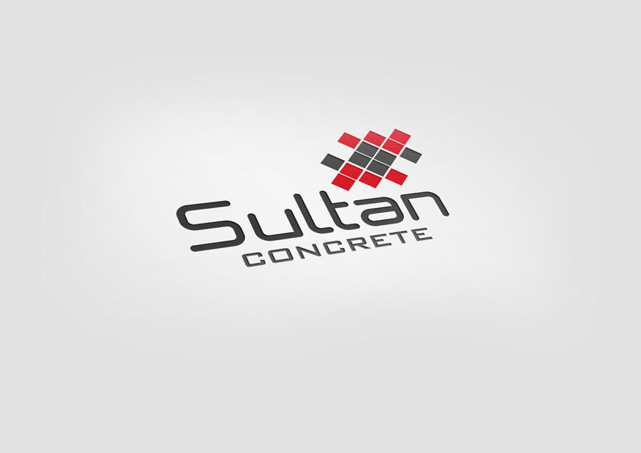 Construction   concrete company logo design