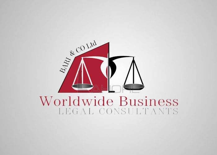 Law Firm Logo Design Bari and co Design