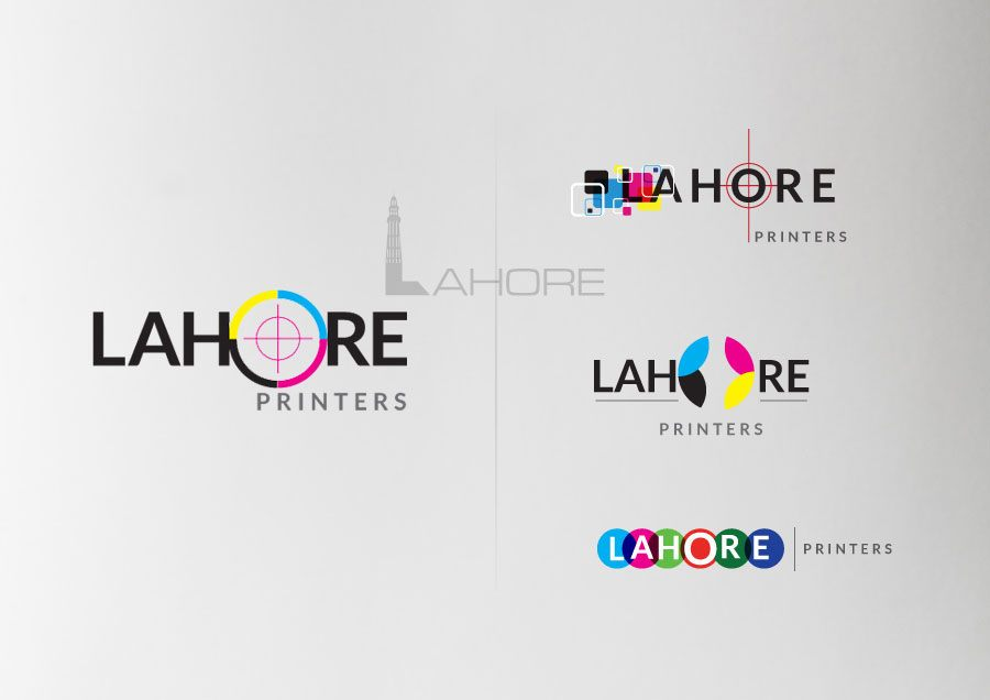 Lahore Printers Logo Options