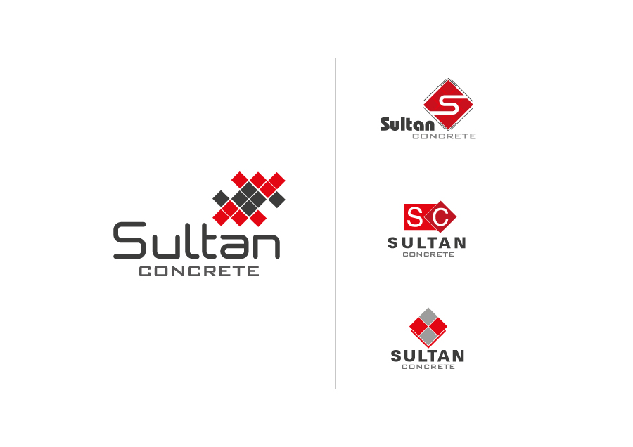 Sultan | corporate construction company logo design