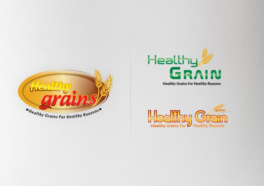Healthy Grain Logo Designs