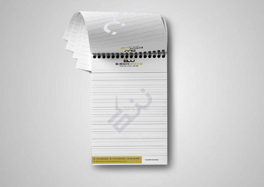 Stationery Notepad Design