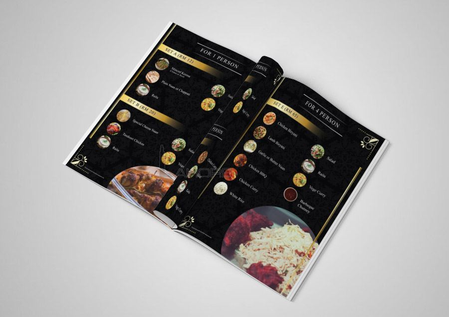 Lunch Menu Design Inner Page-1