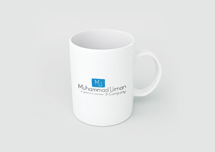 Custom Logo Coffee Mug Design