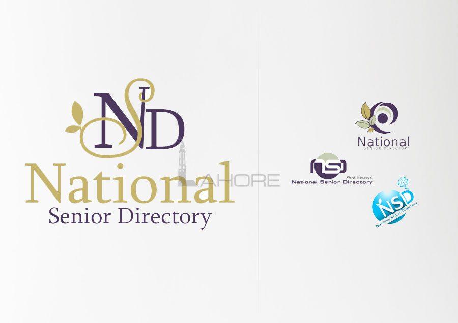 Logo Design Concepts for National Senior Directory